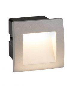 Die Cast Aluminium LED Outdoor Recessed Square Wall Light