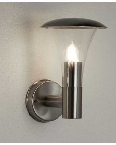 Strand Stainless Steel IP44 Outdoor Wall Light