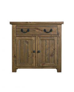 Cotswold Rustic Oak Small Sideboard