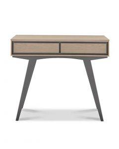 Brunel Scandi Oak & Dark Grey Dressing Table