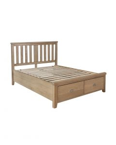 Harrogate King Size Bed with Drawer Storage