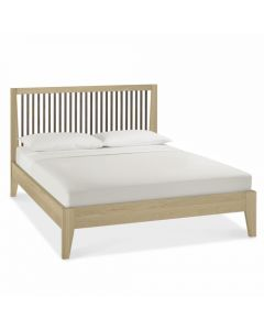 Rimini Aged Oak & Weathered Oak King Size Bed