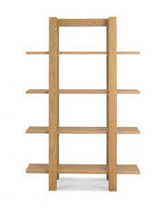 Turin Light Oak Open Shelf Unit