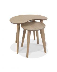 Dansk Scandi Oak Nest of Tables