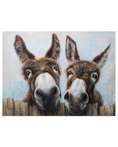Maize And Mabel By Ruth Aslett - 80 x 60cm