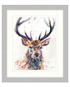 Majestic Stag by Lisa Jayne Holmes - 57 x 67cm