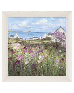 Summer Afternoon by Diane Demirci - 82 x 82cm