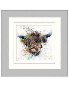 Cool Rainy Coo By Lisa Jayne Holmes - 65 x 65cm