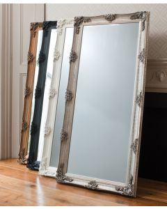 Abbey Cream Leaner Mirror