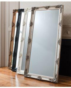 Abbey Silver Leaner Mirror