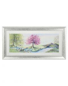 Riverbank Bunnies by Catherine Stephenson - 112 x 57cm