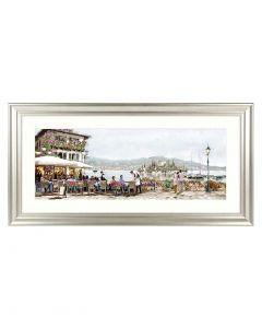 Lake Cafe by Richard MacNeil - 111 x 56cm