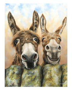 Hee Haw By Dina Perejogina - 60 x 80cm