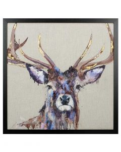 Majesty by Louise Lutton - 74 x 74cm