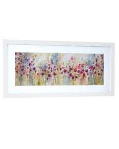 Spring Floral Pods Panel By Catherine Stephenson - 107 X 52cm
