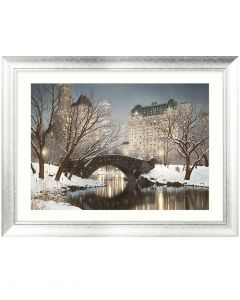 Central Park Winter By Rod Chase - 112 X 86vm