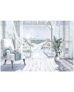 Beach Whispers by Richard Macneil - 100 x 70cm
