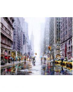 New York 5th Avenue by Richard Macneil - 150 x 120cm