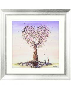 Love Tree by Catherine J Stephenson - 82 x 82cm