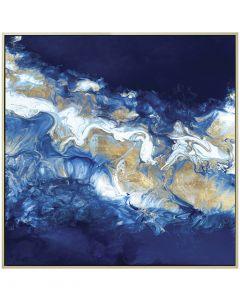 Into the Blue by Wendy Kroeker - 104 x 104cm
