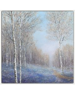 Haze of Blue by Chris Bourne - 104 x 104cm