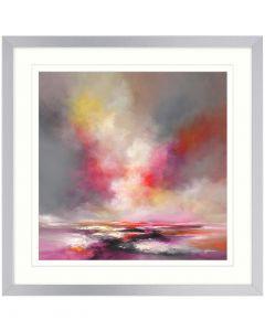 Colour Fusion By Alison Johnson - 62.5 x 62.5cm