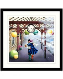 Time Together By Claire Baxter - 62.5 x 62.5cm