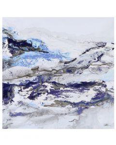 Glen Frost I by Caroline Ashwood - 60 x 60cm