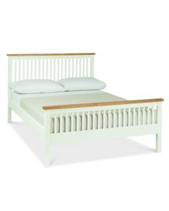 Atlanta Two Tone Double High Footend Bed