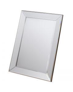 Baskin Silver Small Mirror - 60 x 80cm