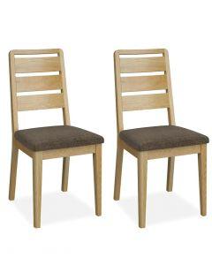 Bath Ladder Back Dining Chairs - Pair