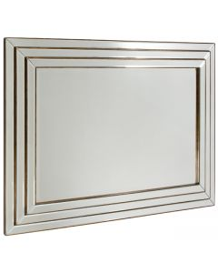 Chambery Bronze Wall Mirror  By Gallery