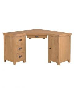Country Oakham Corner Desk