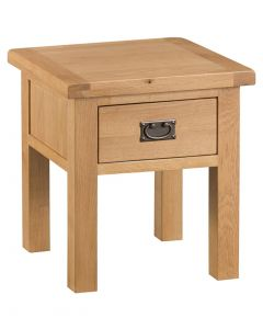 Country Oakham Lamp Table