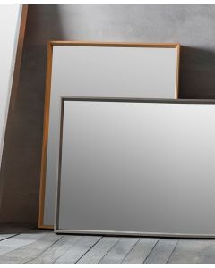 Comet Oak Rectangle Mirror