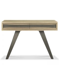 Cadell Aged Oak Console Table With Drawers