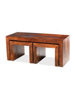 Krishna Long John Coffee Table