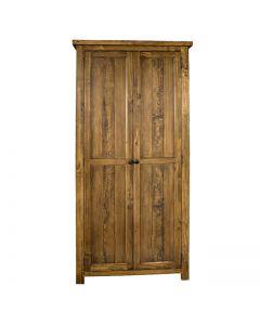 Cotswold Rustic Oak Double Wardrobe