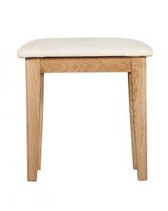 Eva Oak Dressing Table Stool