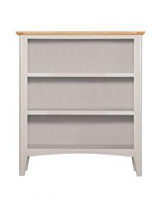 Eva Painted Grey Small Bookcase
