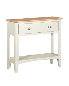 Eva Painted Ivory Console Table
