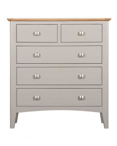 Eva Painted Grey 2 over 3 Drawer Chest