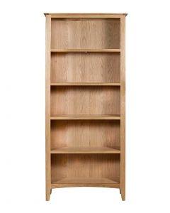 Eva Oak Large Bookcase