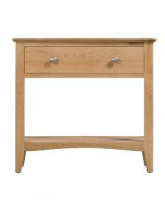 Eva Oak Console Table