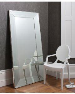 Ferrara Silver Leaner Mirror