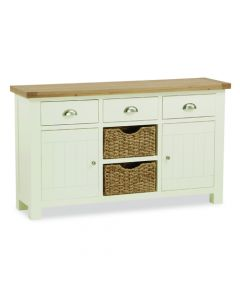 Norfolk Painted Large Sideboard with Baskets