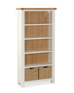 Norfolk Painted Large Bookcase