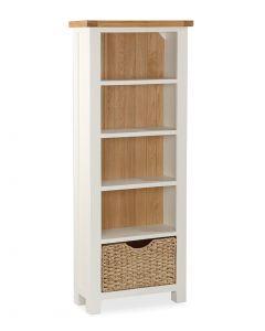 Norfolk Painted Slim Bookcase