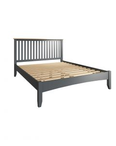 Georgia Painted Grey King Size Bed