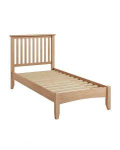 Georgia Oak Single Bed